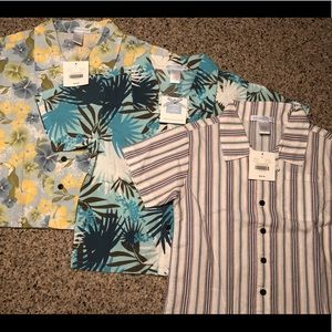 NWT Janie and Jack Boys 4T Button-Down Shirt Lot